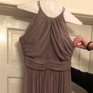 Dessy Collection - Vivian Diamond Mocha Dress